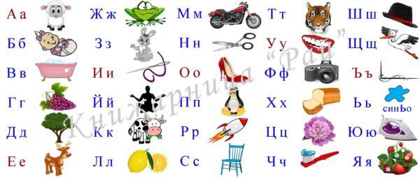 Чаша с азбуката в картинки - 4