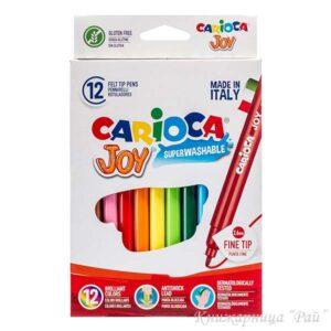 Флумастери Carioca JOY - 12 цвята