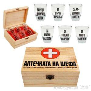Кутия АПТЕЧКАТА НА ШЕФА
