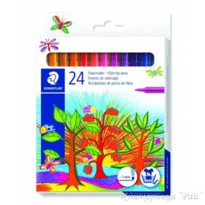 Флумастери 24 цвята Staedtler 325